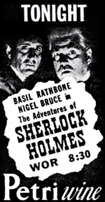 The New Adventures of Sherlock Holmes Old-time Radio Show